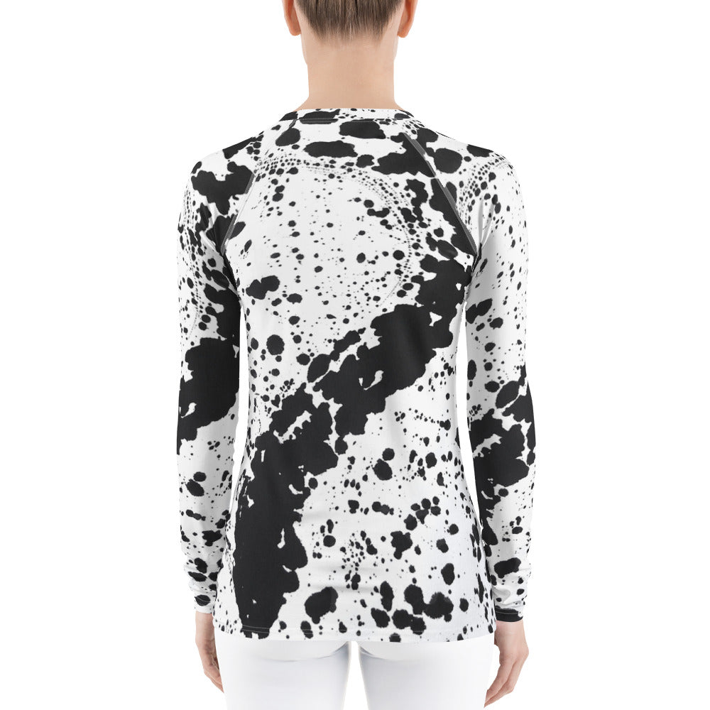 Dalmatian Women's Rash Guard