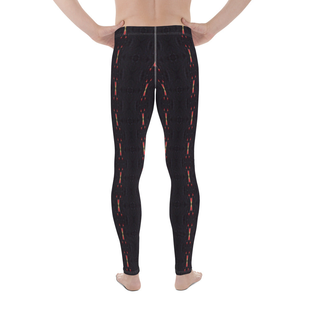 Red Sun Darkness Men's Leggings