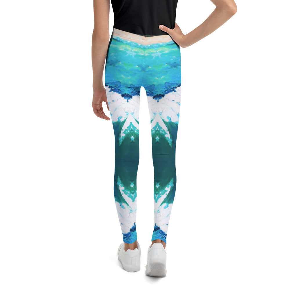 Big Shark's Teeth Youth Leggings