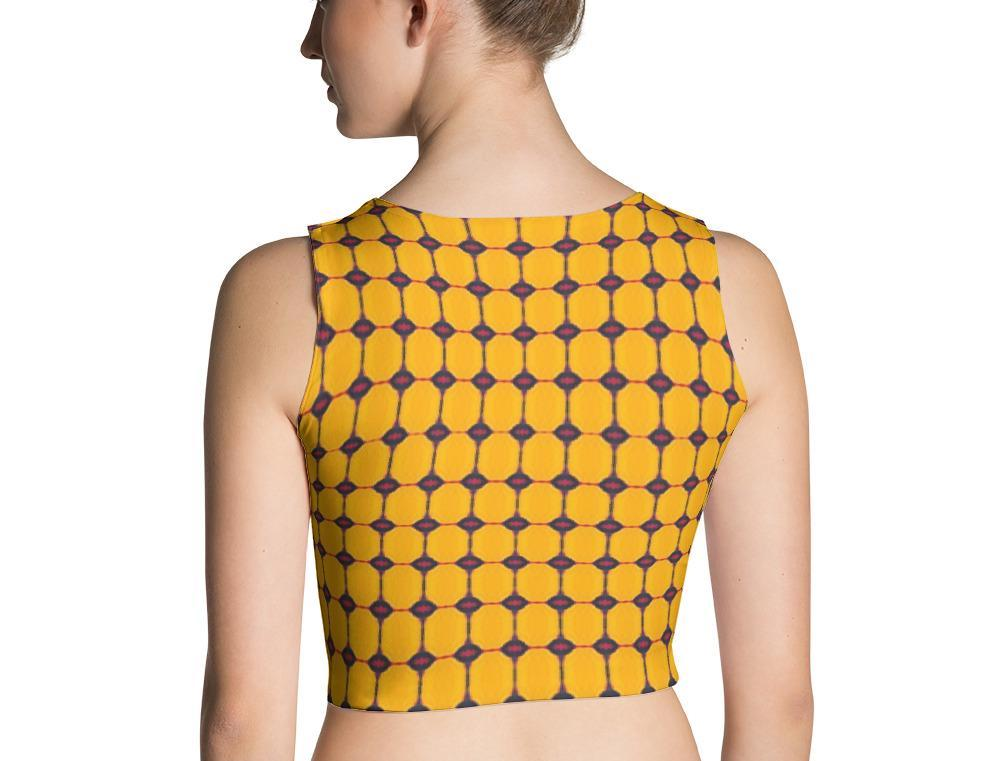 Yellow Submarine Crop Top