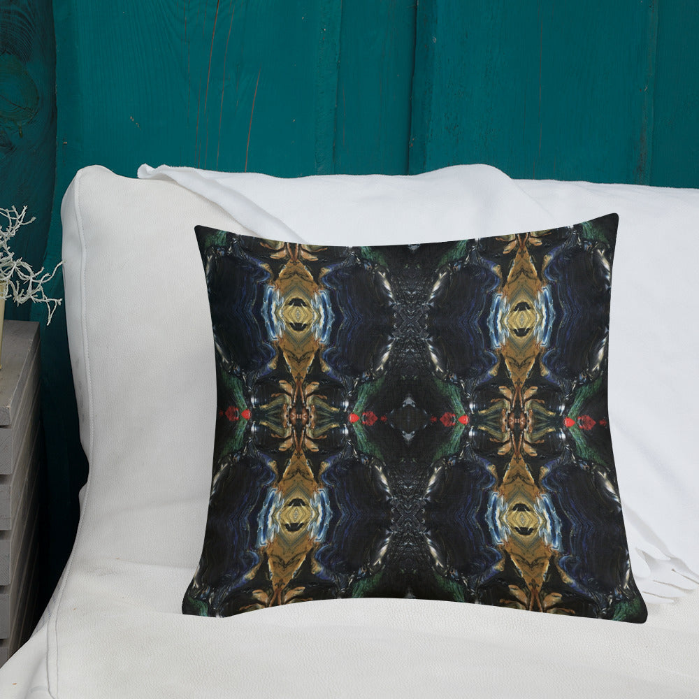 Black and Gold Premium Pillow