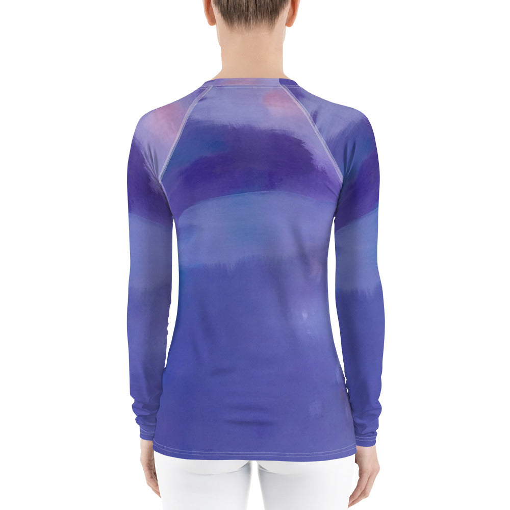 Purple Haze Women's Rash Guard