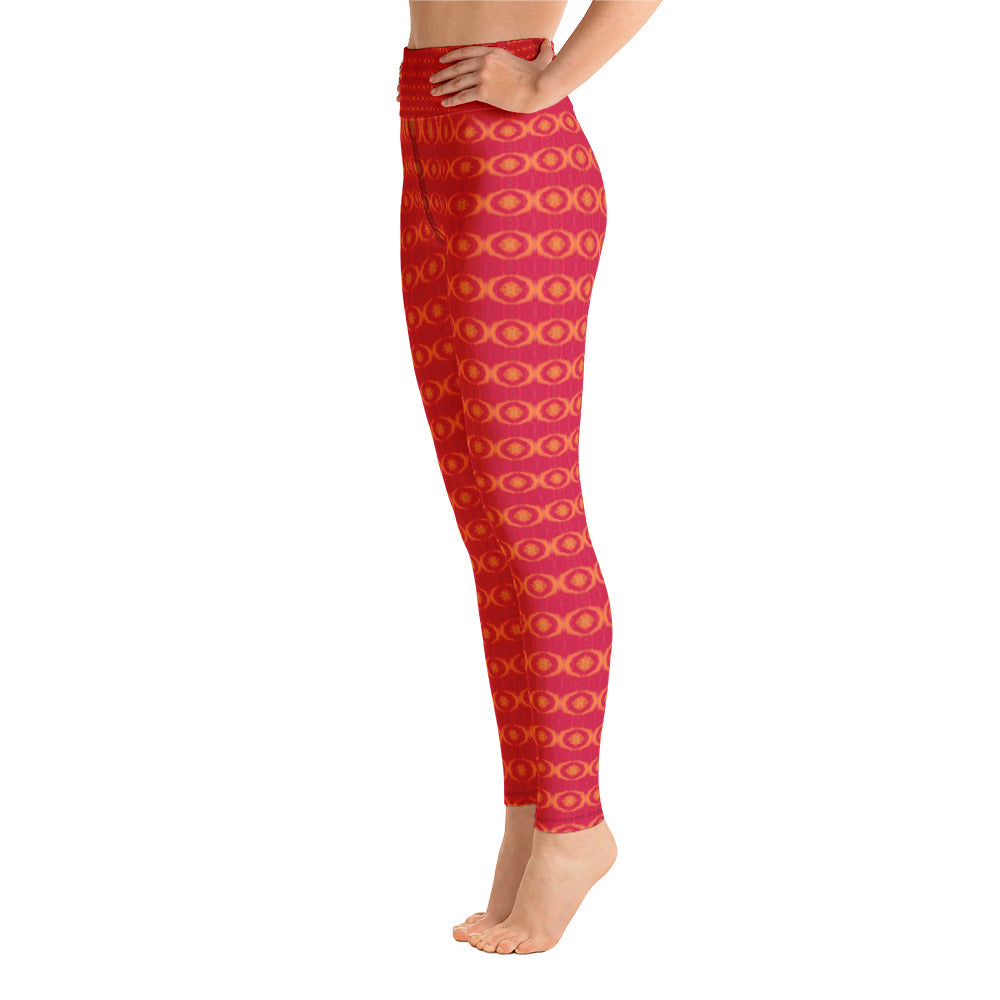 Red Sun Yoga Leggings