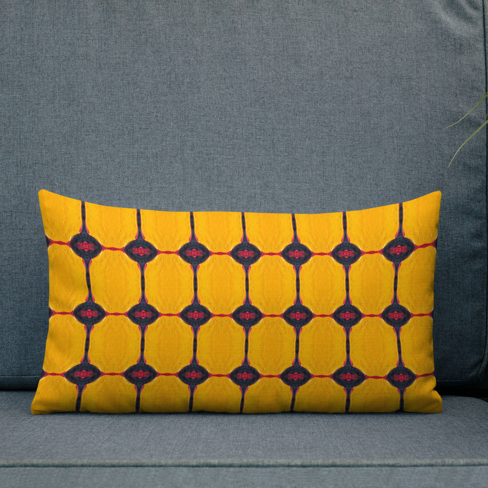 Yellow Liquorice Premium Pillow