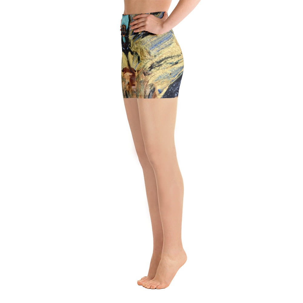 Agate Yoga Shorts