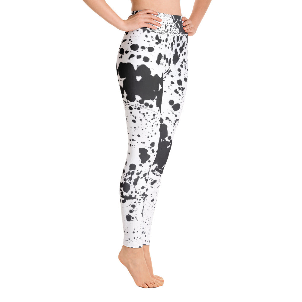 Dalmatian Yoga Leggings