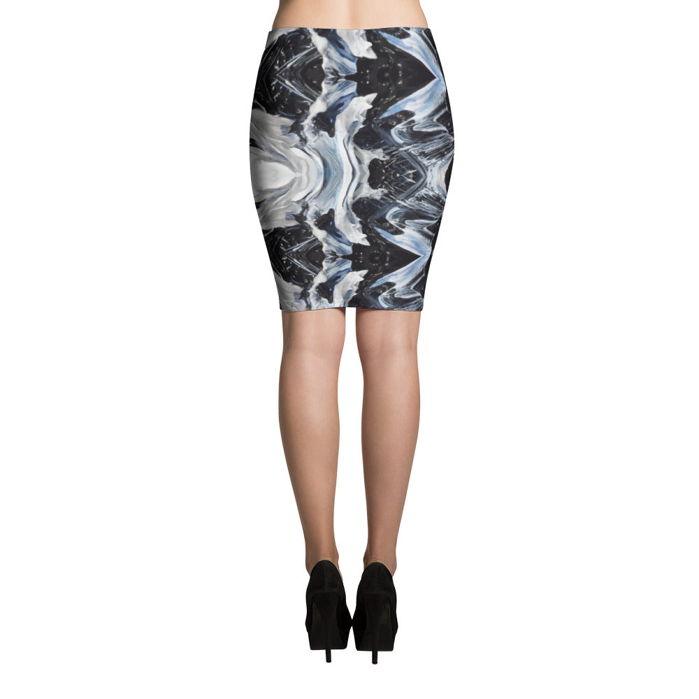 Stardust Pencil Skirt