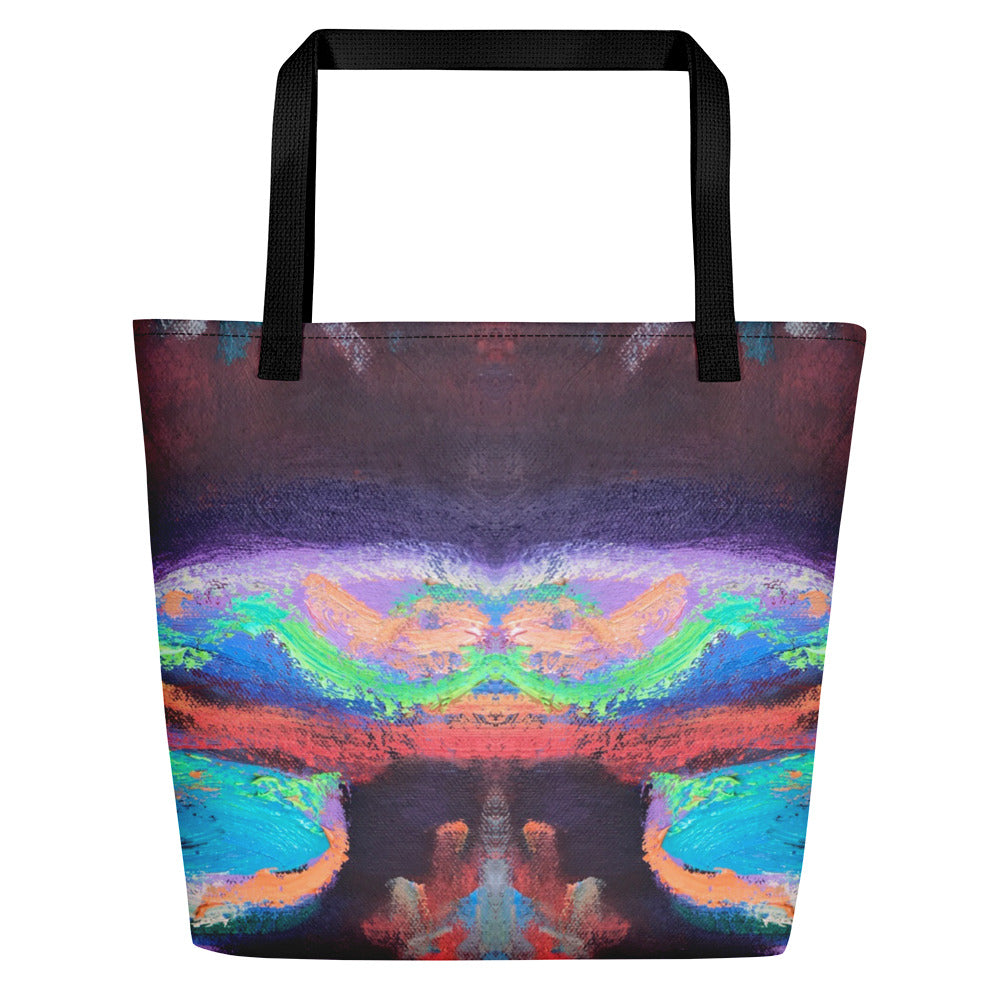 Flower Power Beach Bag