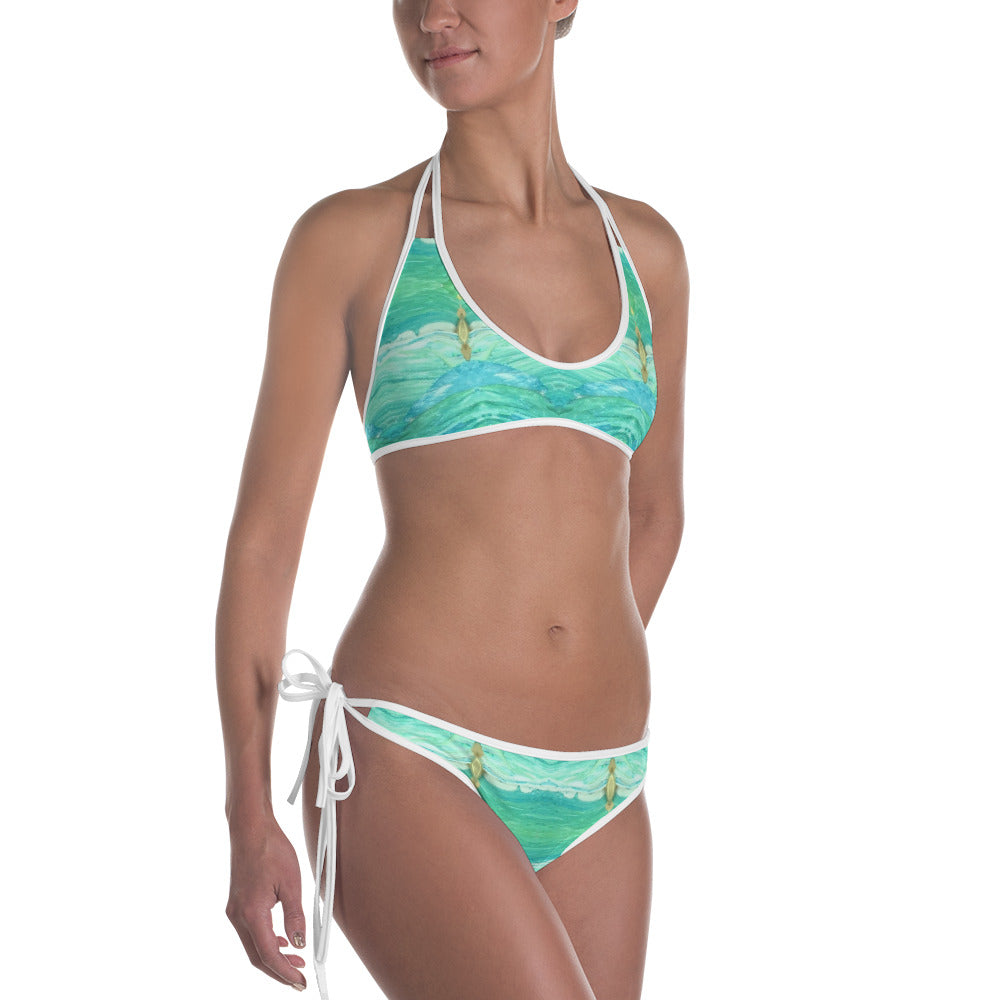 A Sea Green Bikini