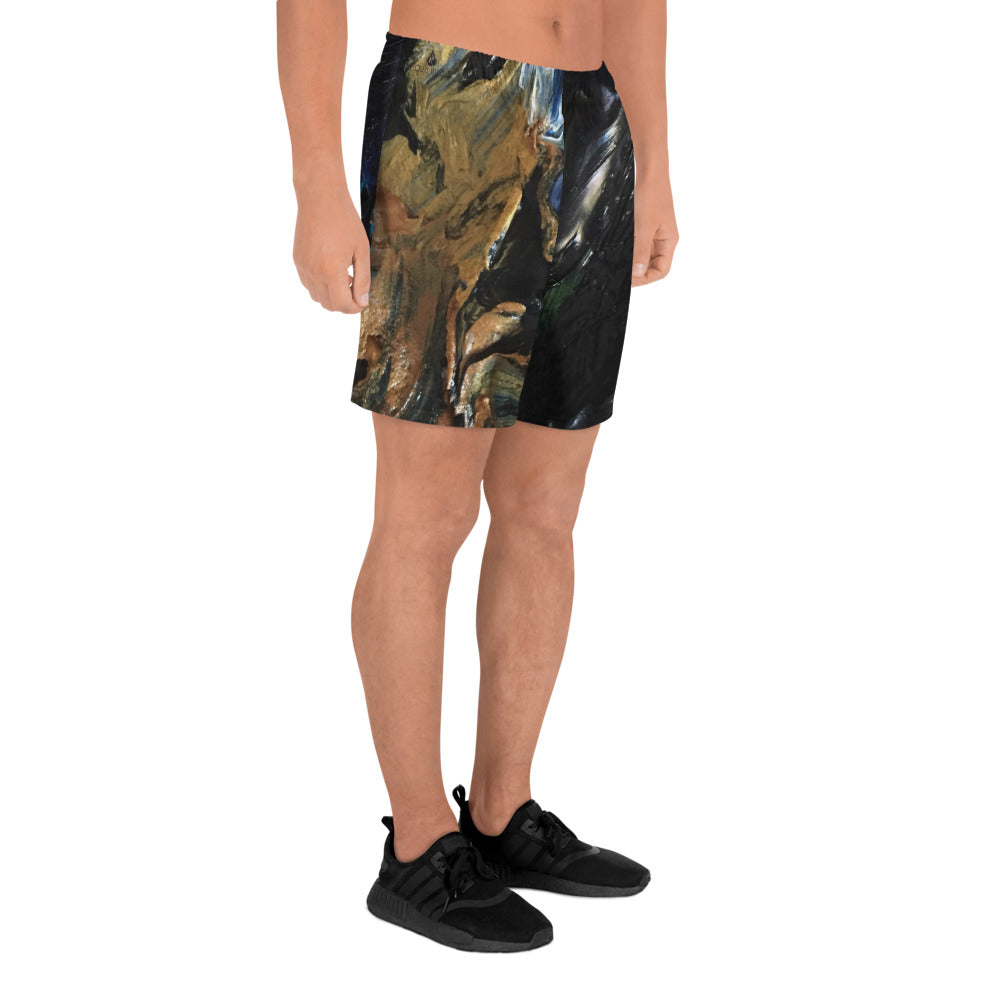 Paint It Men's Athletic Long Shorts