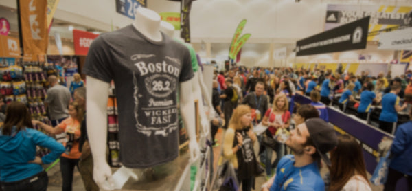 Official exhibitor of Boston Marathon Sports Expo!