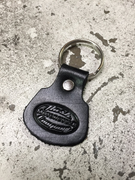 Oval logo key chain