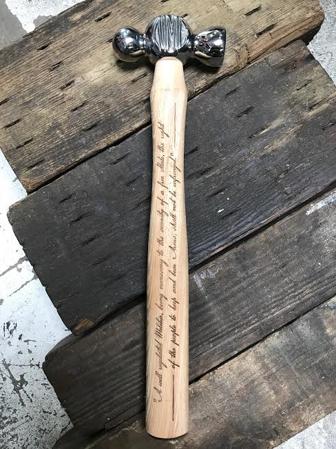 "*LIMITED EDITION* ""The Right"" Hammer"
