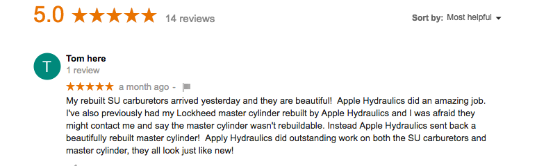 Apple Hydraulics Reviews