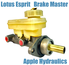 Lotus Esprit Brake Master and Booster, yours rebuilt, $345