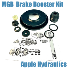 MGB Brake Booster Repair Kit, $65
