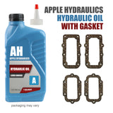Hydraulic Oil for Lever Shocks with yorker spout and one cover gasket - MGB & GT (1963-80), Oil, MGB & GT - Apple Hydraulics