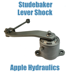 Studebaker Shock, yours rebuilt $275ea (link not included)