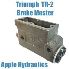 Triumph TR2 OEM Brake Master Cylinder, yours done $215