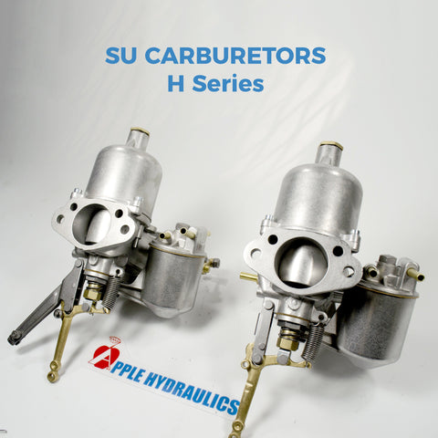 Carburetors - SU H Series Carburetors Complete Rebuild Per Pair