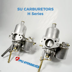 SU H Series Carburetors Complete Rebuild per pair, Carburetors, Apple Hydraulics - Apple Hydraulics