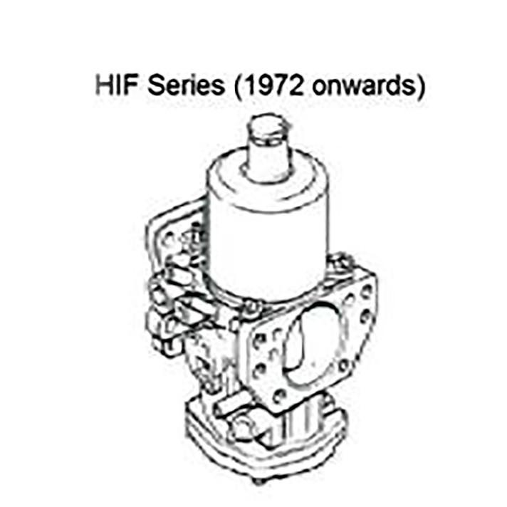 Carburetors - SU HIF Series Carburetors Complete Rebuild Per Pair