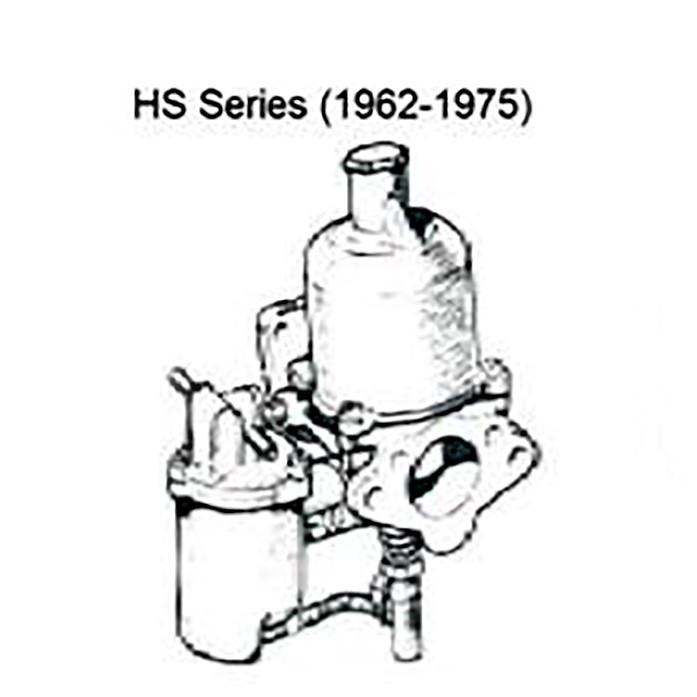 SU HS Series Series Carburetors Complete Rebuild per pair, Carburetors, Apple Hydraulics - Apple Hydraulics