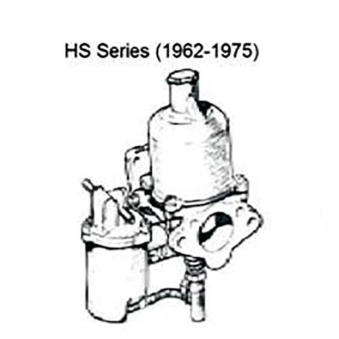 Carburetors - SU HS Series Series Carburetors Complete Rebuild Per Pair