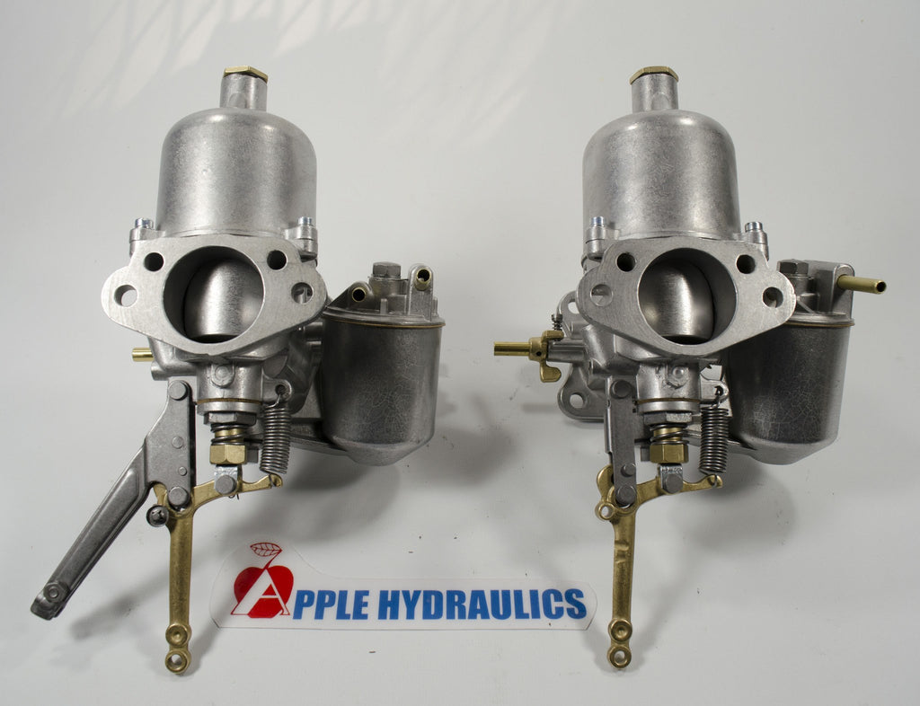 "Triumph TR-3 Carburetors H6 1-3/4"" (price includes $150 refundable deposit), Carburetors, Triumph - Apple Hydraulics"