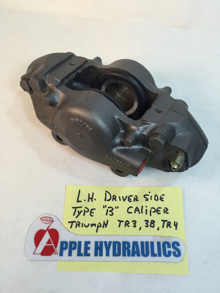"Triumph TR3, 3A, TR4 original Front Brake Caliper, Type ""B"", Calipers, Triumph - Apple Hydraulics"