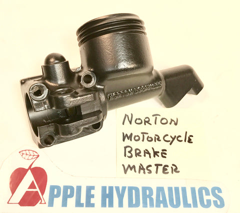 Norton Motorcycle Brake Master Cylinder (your Cylinder done), BrakeMaster, Norton - Apple Hydraulics