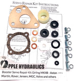 Girling MKIIB Booster Servo Repair Kit- Aston Martin, Rover, Jensen, MGC, Volvo and others