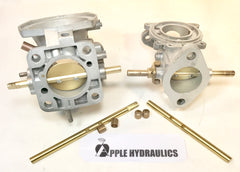 Carburetor Re-bushing - New Shafts Installed, Carburetors, Apple Hydraulics - Apple Hydraulics
