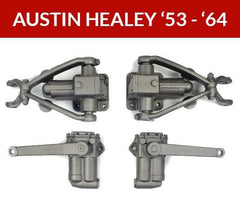 1953-64 Set of 4 - Austin Healey 100-4, 100-6, 3000 Shocks, Shocks, Austin Healey - Apple Hydraulics