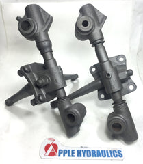 MGTD-TF Swivel Axle/Kingpin Assembly - per pair - yours rebuilt, Swivel axle/kingpin, MGTD-TF - Apple Hydraulics