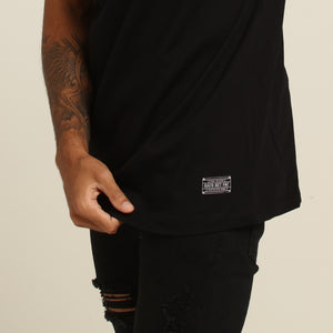 CUT THROAT GANG TEE - Black