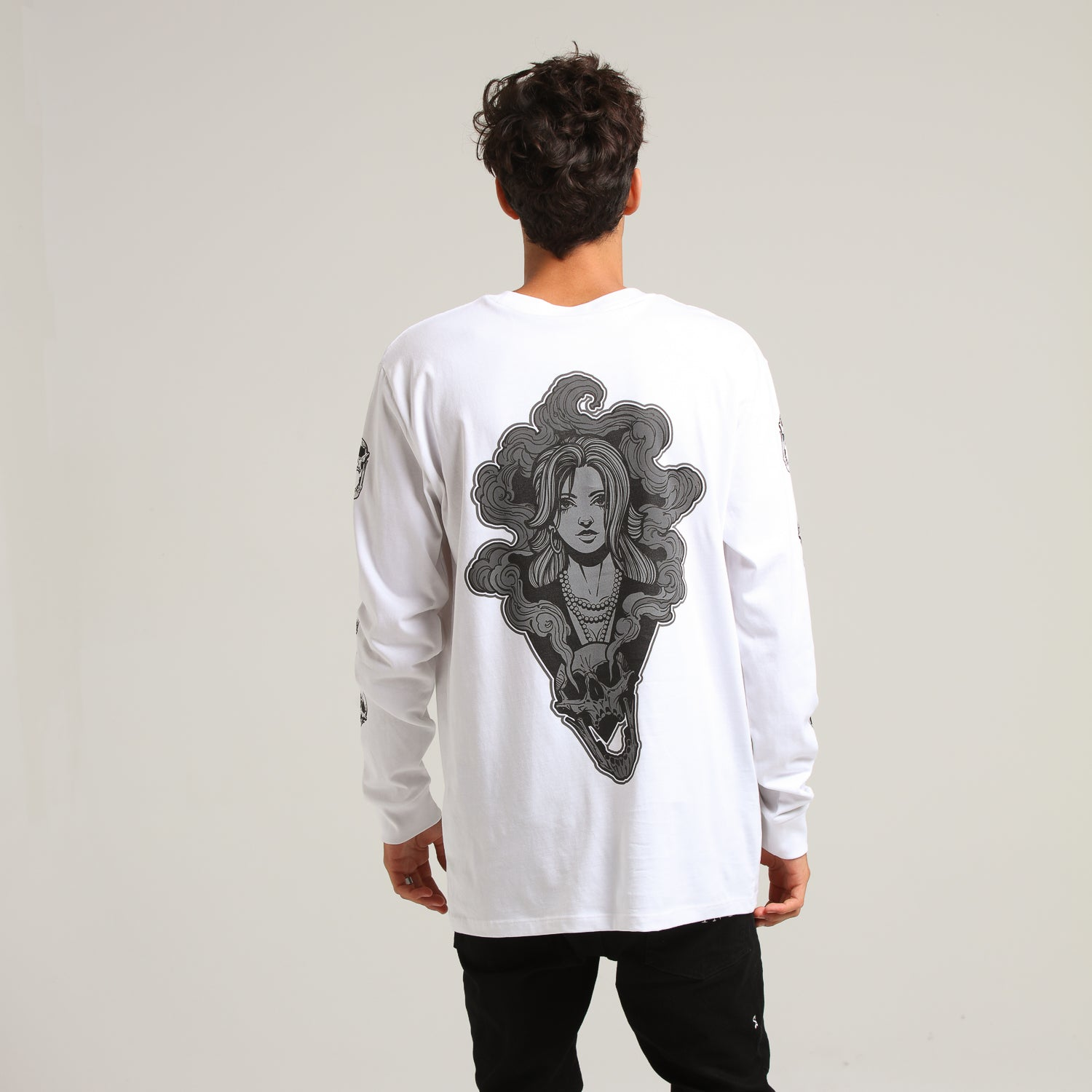 RGF x CL BETRAYAL LS TEE - White