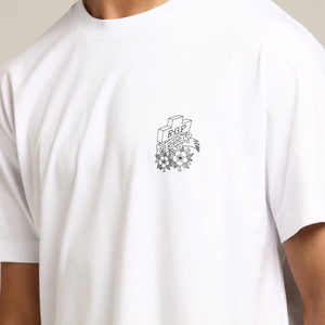 Rats Get Fat No Regrets SS Tee White