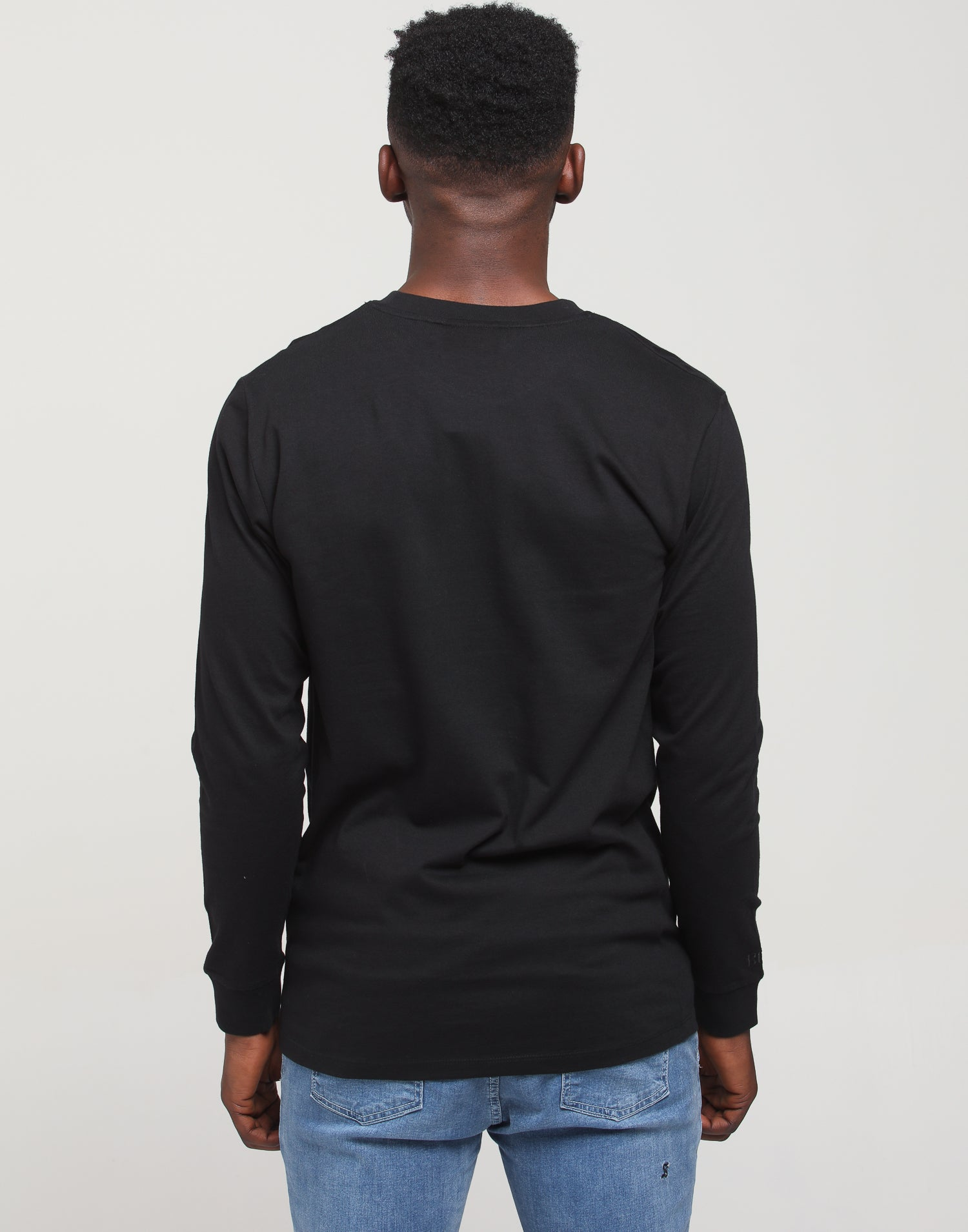 CHIEF LS TEE - Black