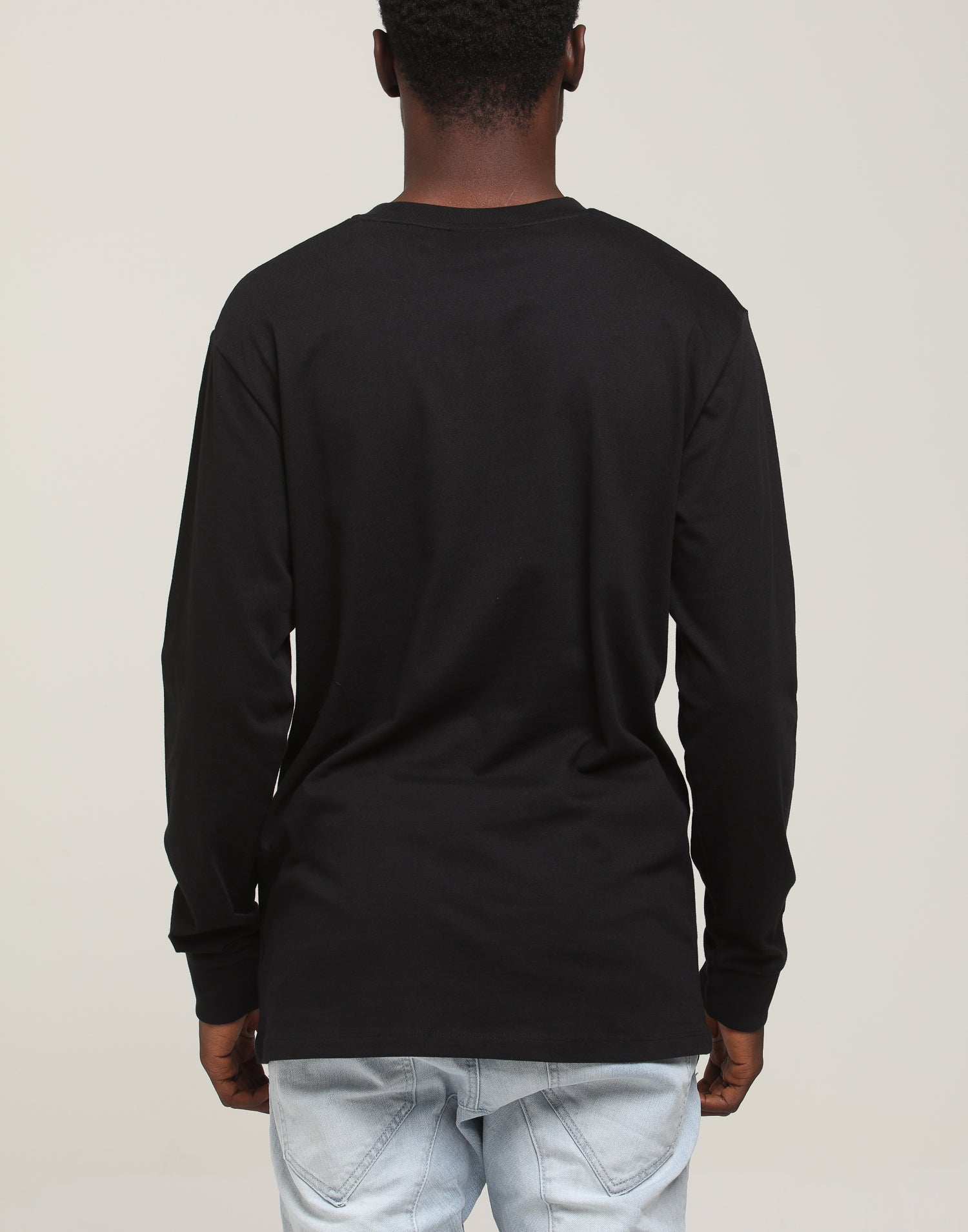 CUT THROAT GANG LS TEE - Black