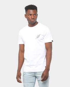 Rats Get Fat Blade Tee White
