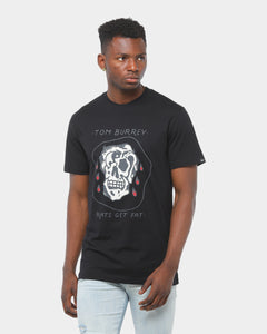 Rats Get Fat Death By Yin Yang Tee Black