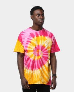Rats Get Fat Cut Throat Trinidad Tee Multi Tie Dye