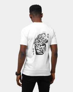 RGF X MS TIGER HEAD TEE - White