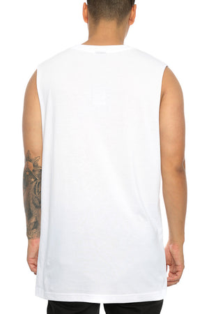COFFIN POCKET SHIPMATE MUSCLE - White