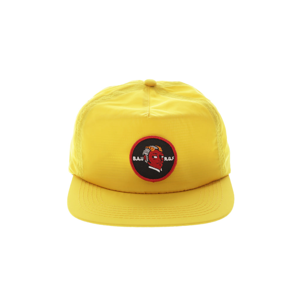 BUSINESS AS USUAL STRAPBACK - Yellow