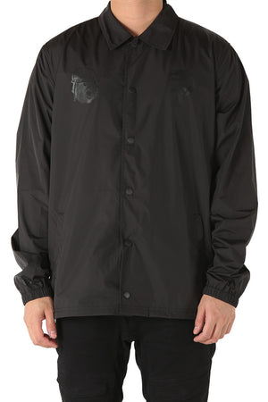 A-SQUADRON COACH JACKET - Black