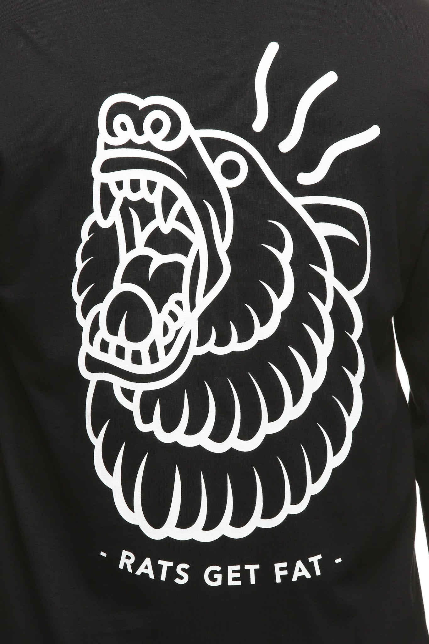 GRIZZLY LS TEE - Black