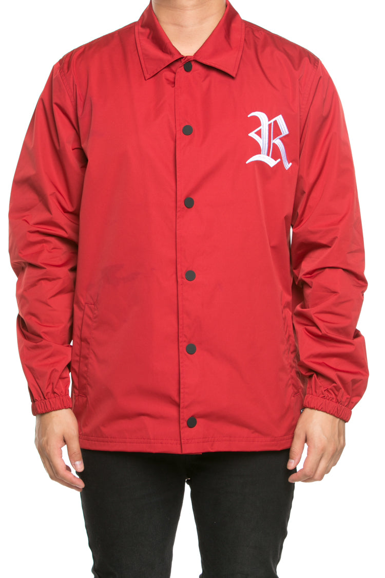 BITE COACH JACKET - Burgundy
