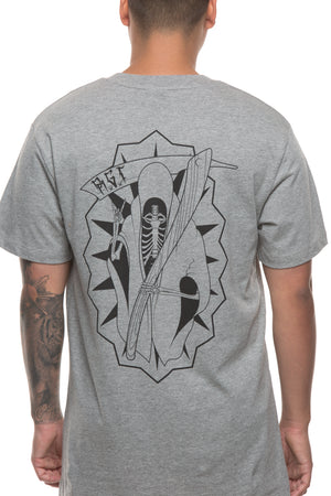 CUT THROATALUPE TEE - Grey